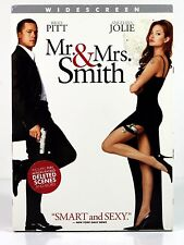 Mr. and Mrs. Smith DVD 2009 Widescreen Brad Pitt Angelina Jolie DELETED SCENES