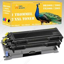 Drum +2Toner Suitable for Brother DR2000 TN2000 DCP-7010 DS-Shop24