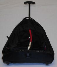 VTG Tommy Hilfiger Back Pack Converts to Rolling Travel Luggage W/ Handle