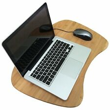 PREMIUM BAMBOO LAP DESK FOR LAPTOP NOTEBOOK DETACHABLE CUSHION LAPDESK LAPGEAR