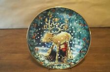 A Child's Christmas Collector Plate * Love Is Warm All Over * Hamilton