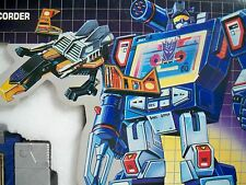 K1694441 SOUNDWAVE 100% COMPLETE IN BOX  MIB STYLE TRANSFORMERS G1 ORIGINAL