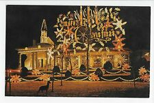 Vintage Postcard Oriskany New York NY Trinkaus Manor Deer Holiday Season Rte 69