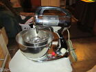 RETRO MID-CENTURY HAMILTON BEACH CHROME STAND MIXER