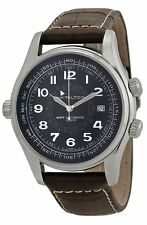 NEW  Hamilton Men's H77505535 Khaki Navi UTC Automatic Watch