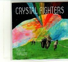 (DU407) Crystal Fighters, Follow / Swallow - 2010 DJ CD