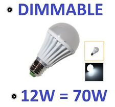 1 AMPOULE LED MAISON E27 12W 220V DIMMABLE - COULEUR BLANC FROID 6000K