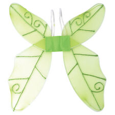BUTTERFLY WINGS GREEN FANCY DRESS ADULT