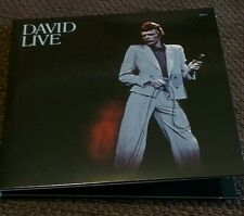 David Bowie - DAVID LIVE (Original Mix) 2 CD From The Who Can I Be Now