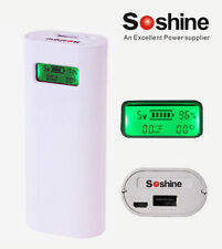 New Soshine E4S 5V 2.1A USB Power Bank for Smart Phone Charger ( NO battery )
