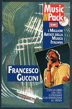 FRANCESCO GUCCINI FOLK BEAT /DUE ANNI DOPO/RADICI MUSIC IN PACK BOX 3 CD BOOKLET