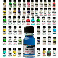 Variety Pack of 10 Mixed Home Fragrance Scented Burning Oils  Oil Burners 10ml