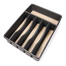 Cutlery Tray Kitchen Drawer Organizer Flatware Silverware Storage Utensil Holder