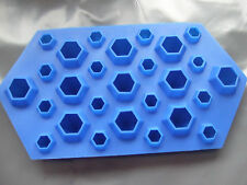 Silicone Mould Tiny Diamonds Chocolate Ice Tray Gems Treasure Jewels/Sugar paste