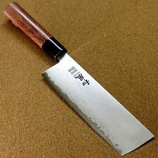 Japanese Kitchen Usuba Nakiri Vegetable Knife 180mm VG-10 Damascus SEKI JAPAN