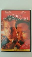 The Ghost and the Darkness (DVD, 1998) Micheal Douglas Val Kilmer RARE OOP
