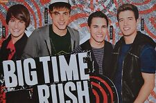 BIG TIME RUSH - A3 Poster (ca. 42 x 28 cm) - Clippings Fan Sammlung NEU