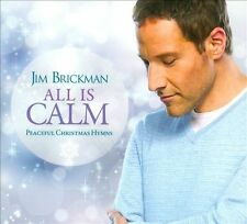 JIM BRICKMAN - ALL IS CALM: PEACEFUL CHRISTMAS HYMNS (CD 2011)NEW 3 BONUS TRACKS