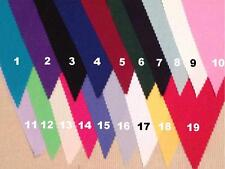 Fabric coloured Bunting Wedding party Decoration CHOOSE YOUR COLOUR 2 mt or more