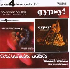 Werner Muller & His Orchestra SPECTACULAR TANGOS & GYPSY! - CDLK4318