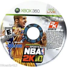 NBA 2K10 (Xbox 360) Create the Ultimate NBA Player & Guide His Every Move!