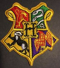 "High Quality Harry Potter Hogwarts Vest Embroidered Iron On Patch (2.5"")"
