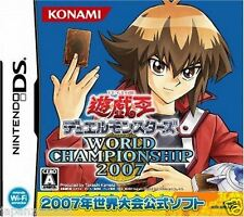 Used DS Yu-Gi-Oh Duel Monsters World Championship 2007 NINTENDO JAPANESE IMPORT