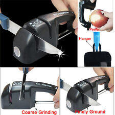 6in 1 Household Knife Sharpener 2 Stages Carbide Ceramic Sharpening Stone Handle