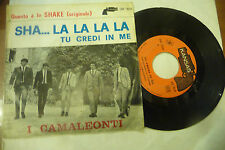 "I CAMALEONTI"" SHA LA LA LA-disco 45 giri KANSAS It 1965"" BEAT Italy"
