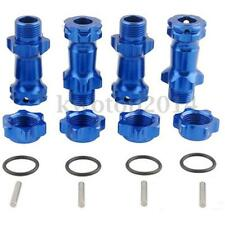 1/8 30mm Blue Aluminum Alloy Wheel Hex Hub Adapter Extension 17mm For 1:8 RC Car