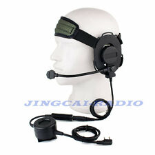 2016 Heavy-duty Noise-reduction Headset with Boom Mic for Kenwood Wouxun Puxing