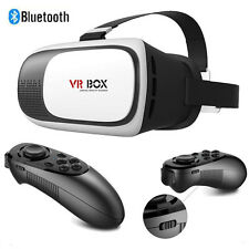 VR BOX Virtual Reality 3D Glasses Games Bluetooth Remote Control For Smartphones