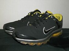 Nike Air Max 2009 - Size 10 - Running Shoe - Black - Volt - Silver