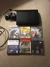 Sony PlayStation 3 Launch Edition 250GB Black Console