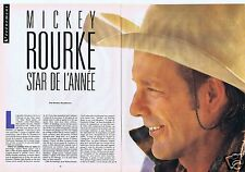 Coupure de presse Clipping 1988 Mickey Rourke  (10 pages)