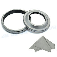 JJC Metal Lens Hood Filter Adapter Ring for Fujifilm Finepix X100 X100S LH-X100