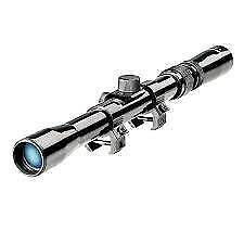 Rifle Telescope Scope Optical Riflescope 4x20 with Cross Hair for Gun