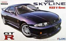 FUJIMI PLASTIC MODEL KIT 1;24 SCALE NISSAN SKYLINE R33 GT-R V-SPEC * NEW IN *