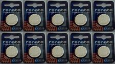 Renata CR2320 3V Lithium Coin Battery - 10 Pack +  FREE SHIPPING