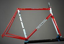 COLNAGO MASTER PIU FRAME SET FERRARI RACING COLORS STUNNING LOOK RESTORED