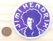 Jimi Hendrix Patch-Purple-Circle-Psychedelic Rock Music-Classic Guitar-Fro-2002.