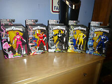 POWER RANGERS LEGACY COLLECTION - LOT OF 5 - LIMITED EDITION - BUILD MEGAZORD