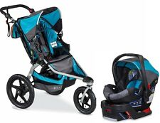 BOB 2015 Revolution Flex Stroller Travel System Lagoon + B-Safe 35 Car Seat!!