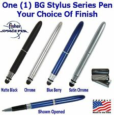 One (1) Your Choice / Fisher Bullet Gripper Pen with Conductive Stylus Point