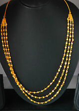 22k Carat  gold plated  chain elegant necklace sets fashion JEWELRY U19  28 in