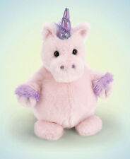 New BEARINGTON Plush Toy PINK UNICORN Stuffed Animal I MAKE NOISE Baby PURPLE