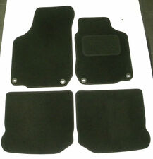 Tailored Velour Black Car Floor Mats for Volkswagen VW Golf mk4 1997-04 B1343