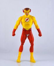 DC  Young Justice The KID Flash Yellow 13.5cm Auction Figure Loose Toy ZX207