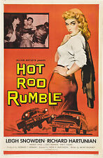 "Hot Rod Rumble Movie Poster Replica 13x19"" Photo Print"