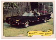 FLEER KUSTOM CARS BATMOBILE-MONKEEMOBILE-GREEN HORNET BLACK BEAUTY REPRINTS